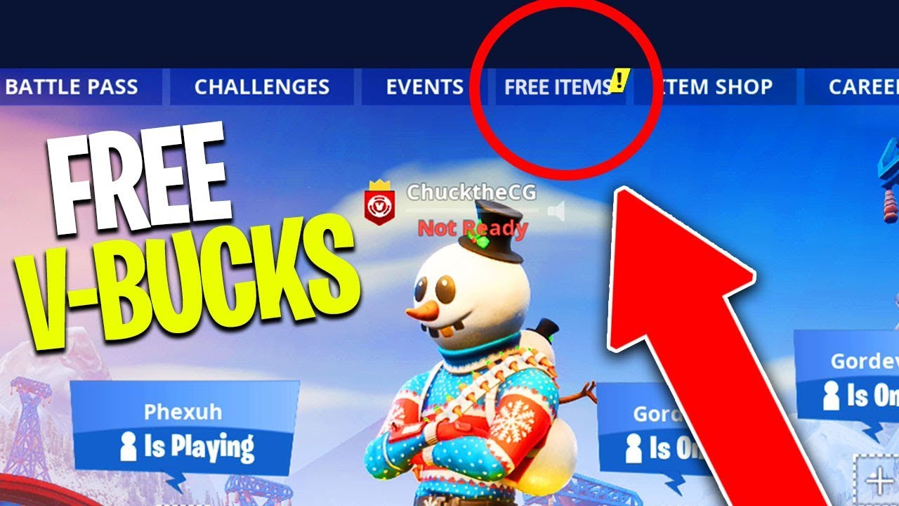 THE BEST WAY TO GET FREE V-BUCKS in FORTNITE! (How to Get Free Skins)