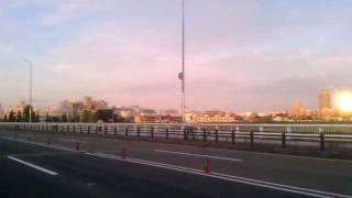 2011年 27時間テレビ 矢部 100Kmマラソン 多摩川大橋を渡る thumbnail