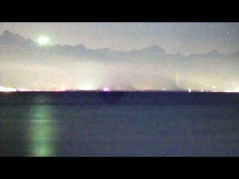 HUGE COLOUR CHANGING LIGHT OVER MONAUX