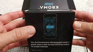 Kroma Wireless Charger REVIEW