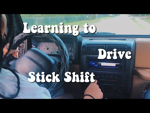 learning to drive stick shift | 1998 Jeep Wrangler