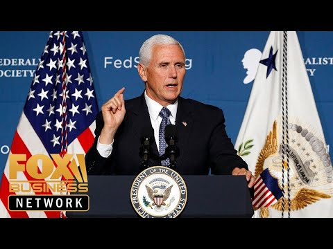 VP Pence speaks at Detroit Economic Club event