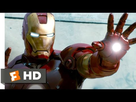 Iron Man to the Rescue - Iron Man (8/9) Movie CLIP (2008) HD poster