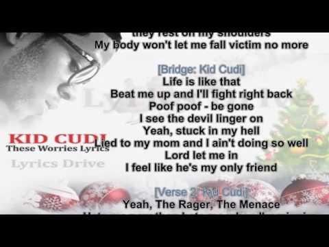 Lyrics ( Official Song ) Kid Cudi - These worries