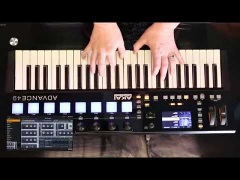 Akai Advance 49 - Product Demo with specialist Andy Mac