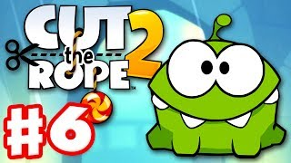 Cut the Rope 2 - Gameplay Walkthrough Part 6 - City Park! 3 Stars! (iOS, Android)