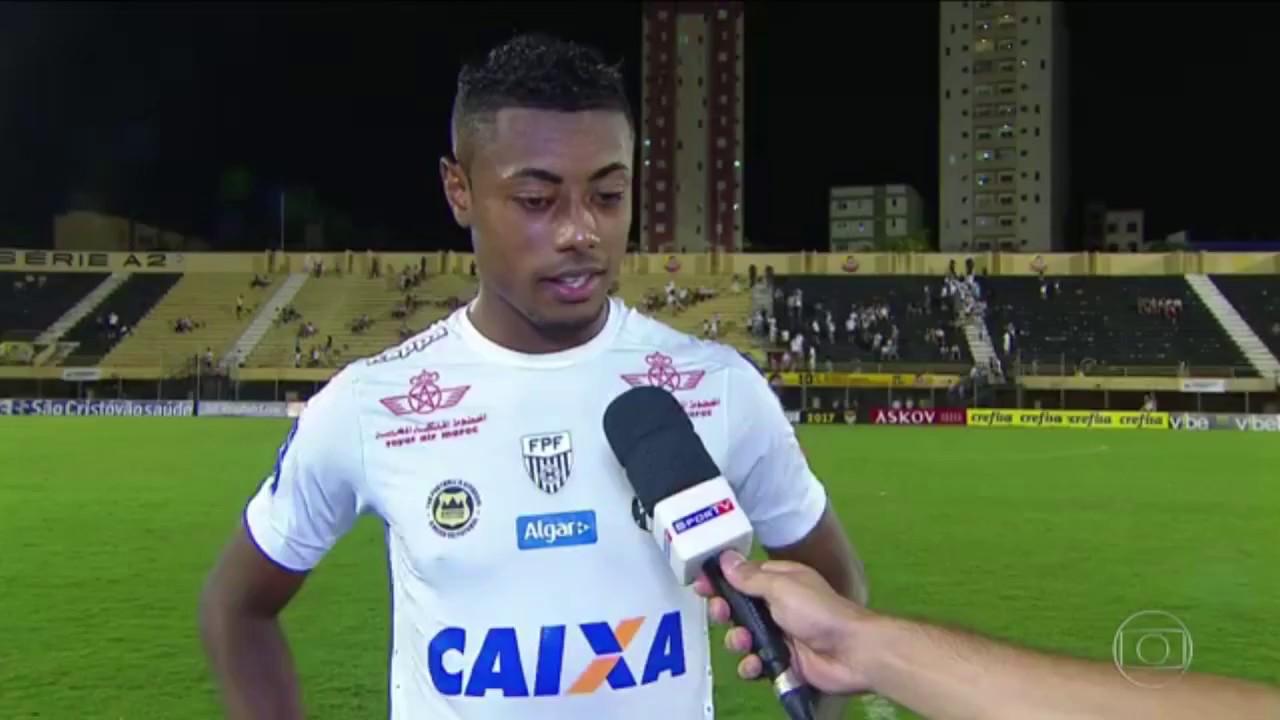 Música Gratidão da Gabriela Rocha no FANTÁSTICO - Jogador Bruno Henrique do  Santos 268d651ad6c4e