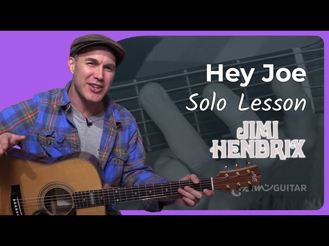 Hey Joe - Jimi Hendrix | JustinGuitar.com