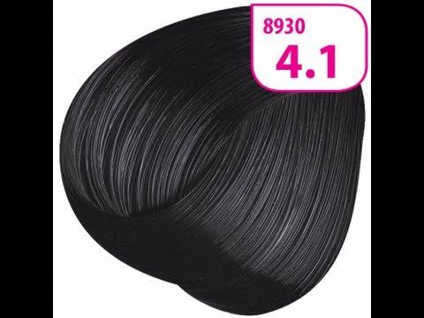 Я в шоке!!! Стойкая крем-краска для волос KRASA тон 4.1 Каштан пепельный