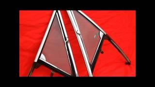 1965 GTO Skylark Cutlass Vent Window Frames