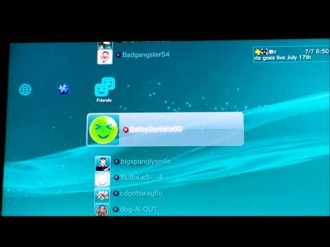 How to set your status offline on ps3