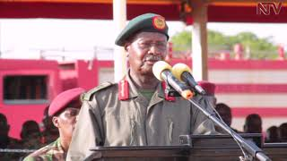 Museveni passes out 6000 Local Defence Unit officers