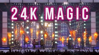 "Bruno Mars ""24K Magic"" live - August 7, 2017 Lincoln, NE"