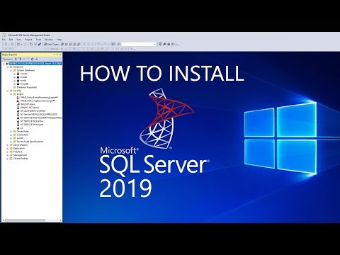 How To Install And Configure Sql Server 2019 In Windows 10 | DenRic Denise