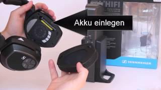 Sennheiser RS 175 Funkkopfhörer Test - Teil 2:Vorbereitungen