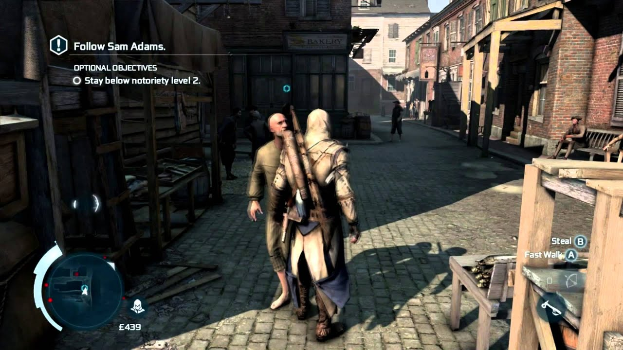 Assassin S Creed 3 Pc Gameplay Hd Max Settings Youtube