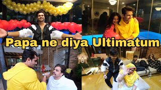Papa's ultimatum before celebration | decoration for dipi's gold play button | Shoaib Ibrahim