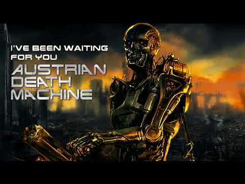 𝘈ustrian Death Machine ''I've Been Waiting For You'' ⌠NEW 12·28·17⌡