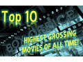 Top 10 Highest Grossing Box Office Movies Of All Time!