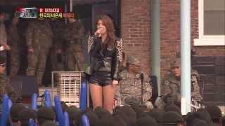 [HOT] 진짜 사나이 - 한미 빅토리 파티에 깜짝 등장한 한국의 비욘세 에일리! 20140202