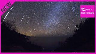 Orionides : ce weekend, observez une pluie d'étoiles filantes !