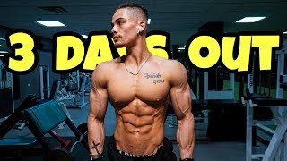 Made It To Chicago...  3 DAYS OUT | NPC Jr. Nationals | Men's Physique Competitor