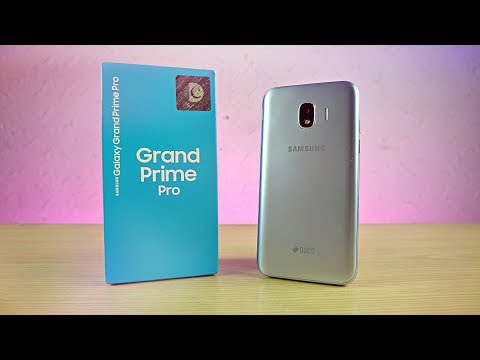 "Samsung Galaxy Grand Prime Pro 2018 ""Baby Galaxy"" - UNBOXING!"