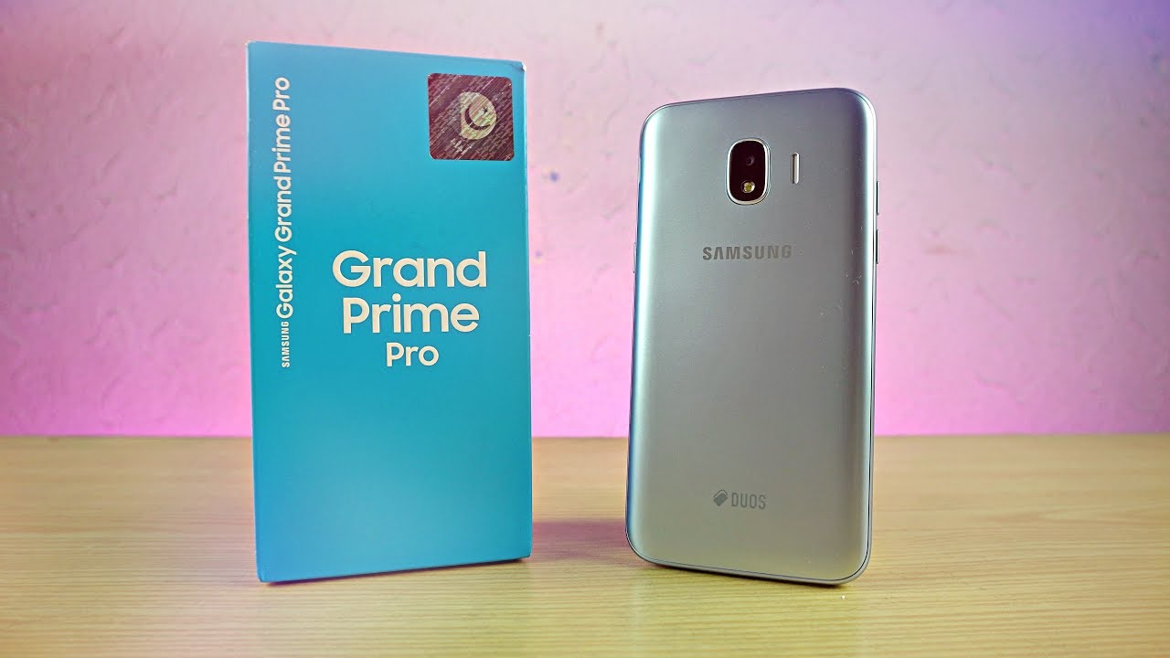 Samsung Galaxy Grand Prime Pro 2018 Baby Galaxy Unboxing