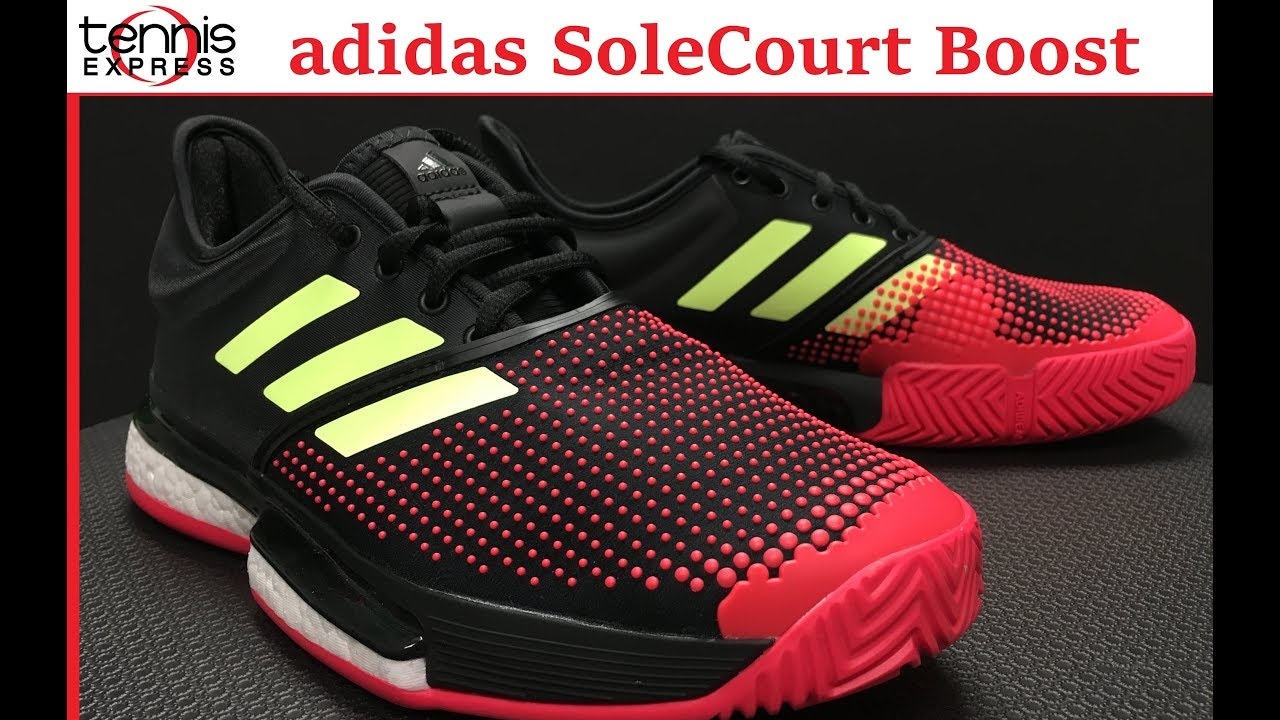 5a75114a685b adidas SoleCourt Boost Tennis Shoe Preview