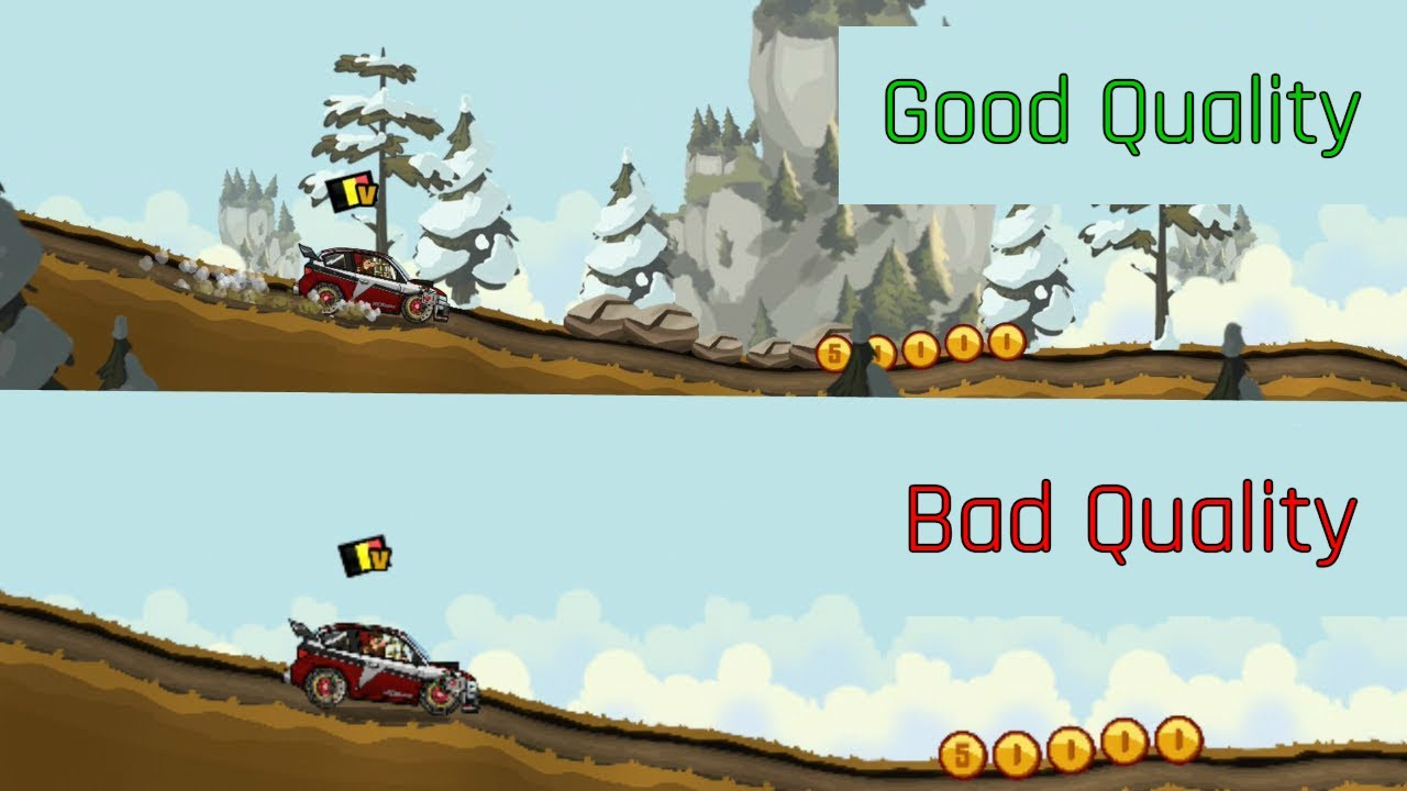Hill Climb Racing 2 - Reduced Quality (info in description)