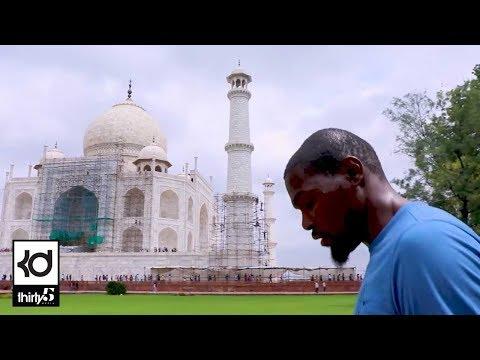 My India Trip / Taj Mahal, Guinness World Record, Kevin Durant Charity Foundation