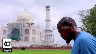 My India Trip / Taj Mahal, Guinness World Record, Kevin Durant Charity Foundation