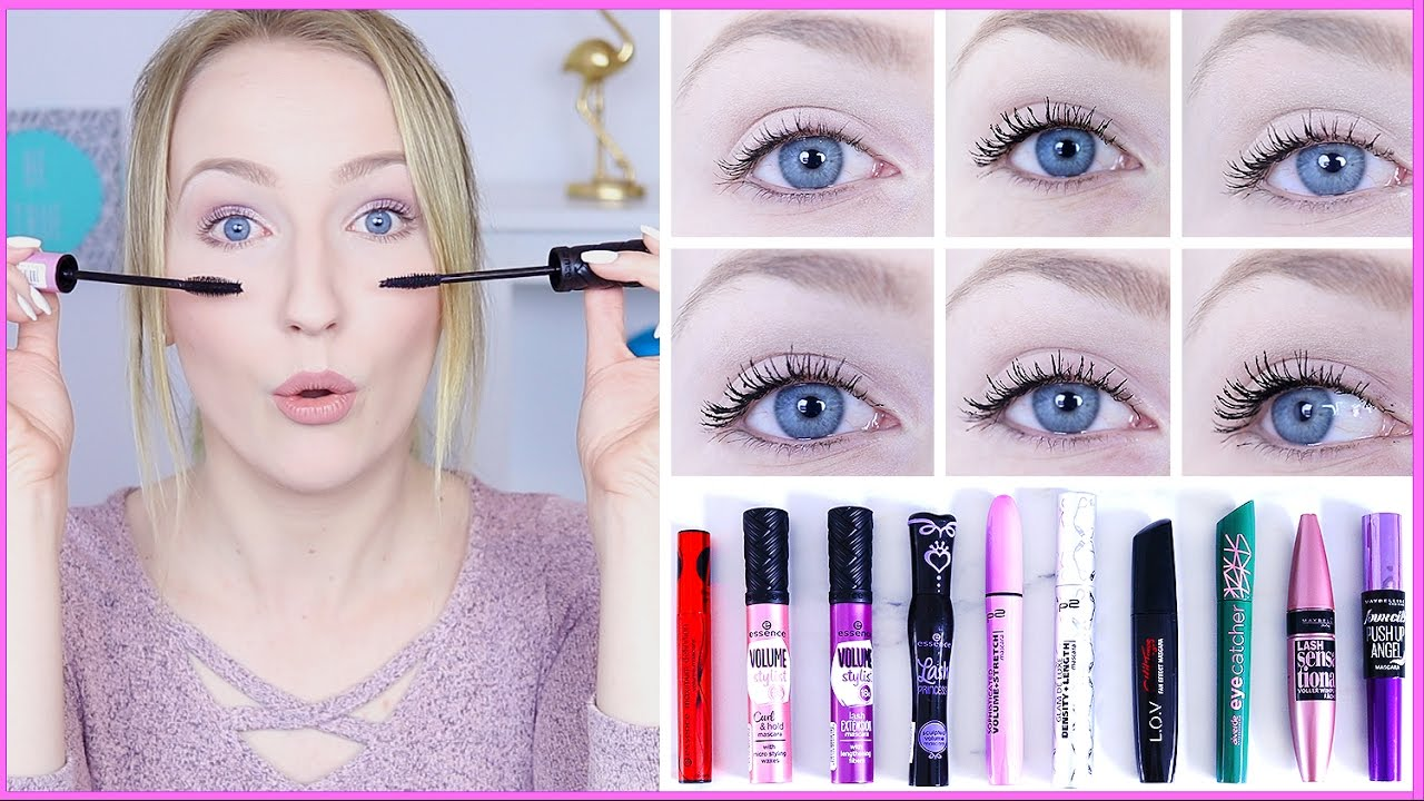 10 drogerie mascara im test welche ist die beste drogerie duell thebeauty2go youtube. Black Bedroom Furniture Sets. Home Design Ideas