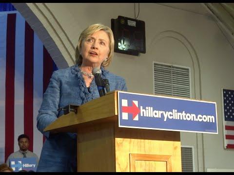 Hillary Clinton - Little Rock, Arkansas (9/21/2015)