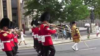 Changing of the Guard, Windsor Castle, August 15, 2013