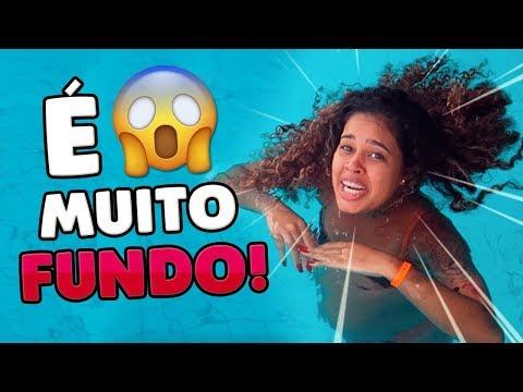 LEVEI A GRÁVIDA PRA PISCINA SUPER FUNDA!!
