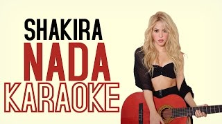 Shakira - NADA (Karaoke version)