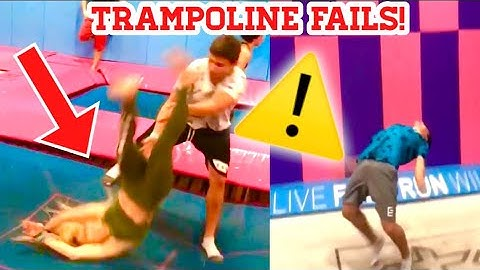 reacting to my worst trampoline fails graphic