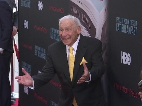 Mel Brooks, Dick Van Dyke attend premiere of documentary about happy, healthy Hollywood Over 90s