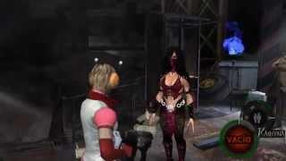 RE4 MOD MKX Mileena x ash armor