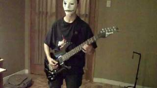 Slipknot - Disasterpiece (guitar cover) (James part)