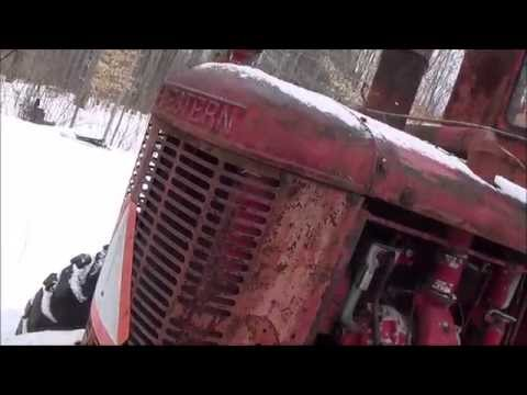 Scout trailer move, a train shout out, and a 1953 Austin Western grader