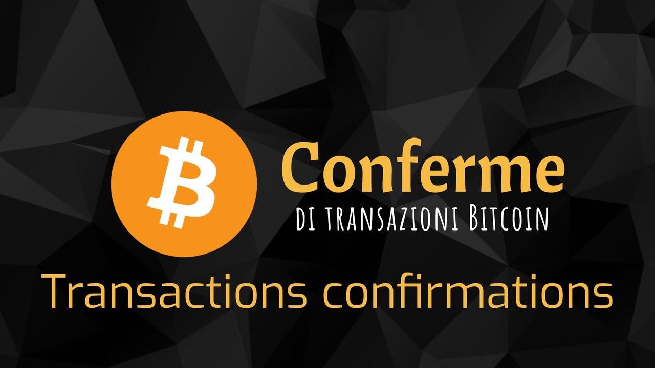 controllare lo stato della transazione bitcoin
