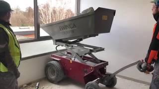 DUMPER ÉLECTRIQUE CHARGE 800KG vidéo
