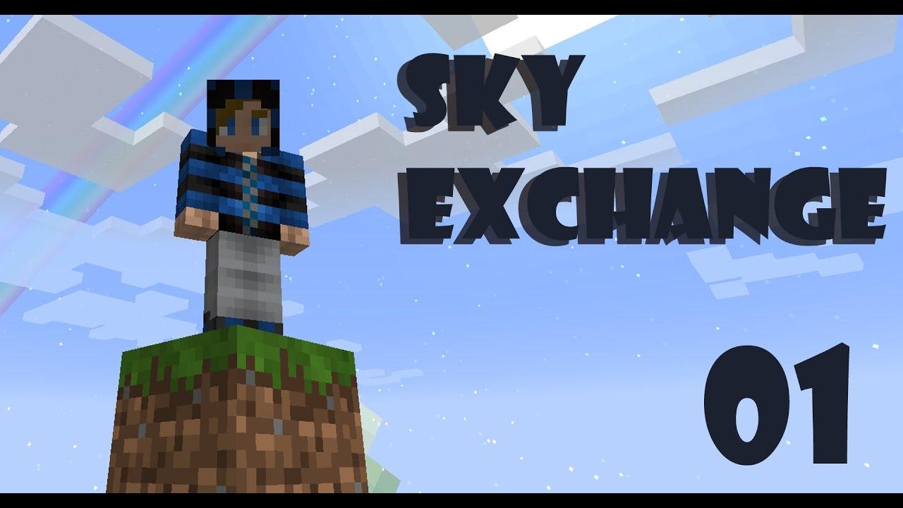 SkyExchange-010- Modded Skyblock in 1.10.2 - YouTube