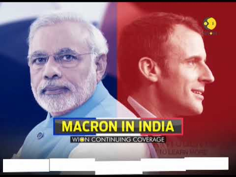 Macron in India: French President holds interactive session with students in Delhi