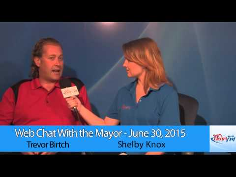 Web Chat With the Mayor - Oxford 2050