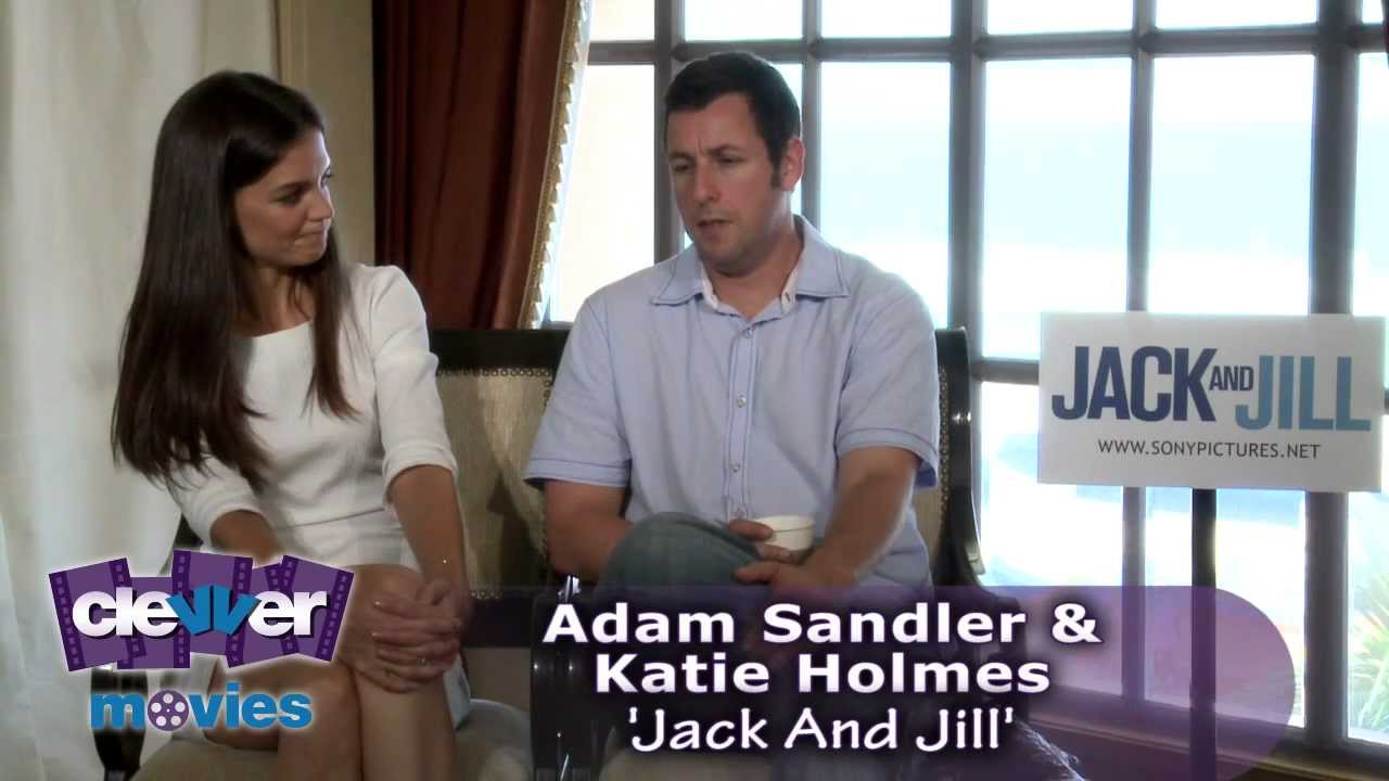 Adam Sandler Katie Holmes 39 Jack And Jill 39 Interview