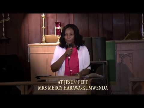 AT JESUS' FEET BY MRS MERCY HARAWA KUMWENDA AT MICHIANA MALAWI SDA CHURCH