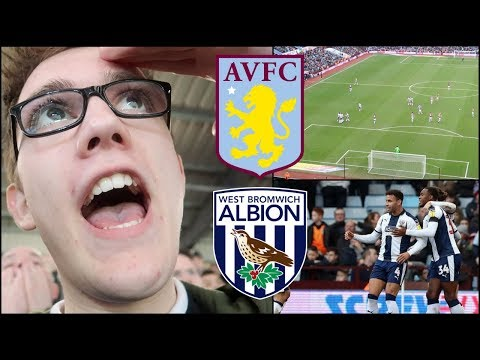 ASTON VILLA 0-2 WEST BROMWICH ALBION   16/2/19   EMBARRASSED IN OUR OWN BACK YARD... *VLOG*